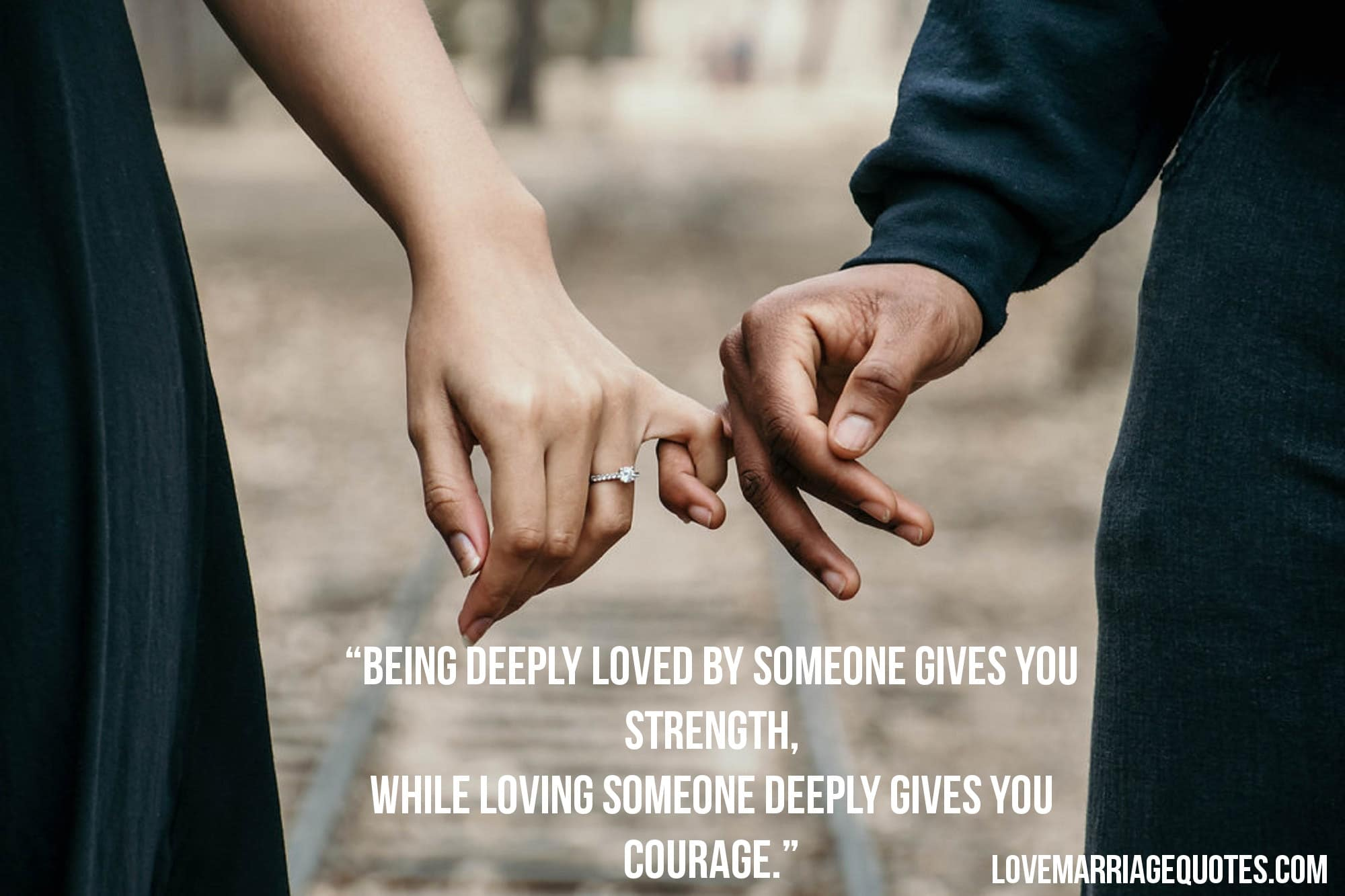 Being Deeply Loved By Someone Lao Tzu Love Quote