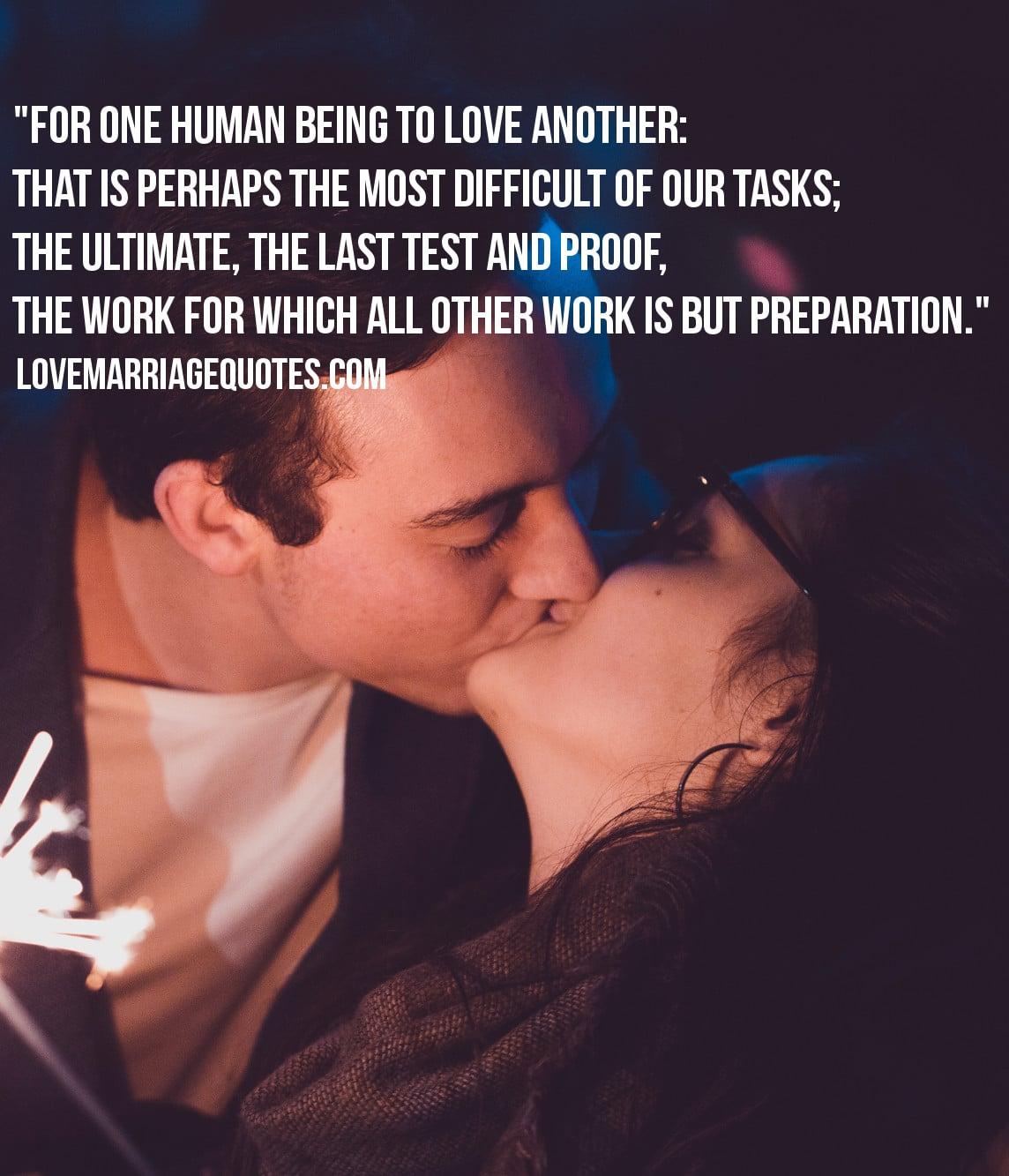 love quote Rainer Maria Rilke