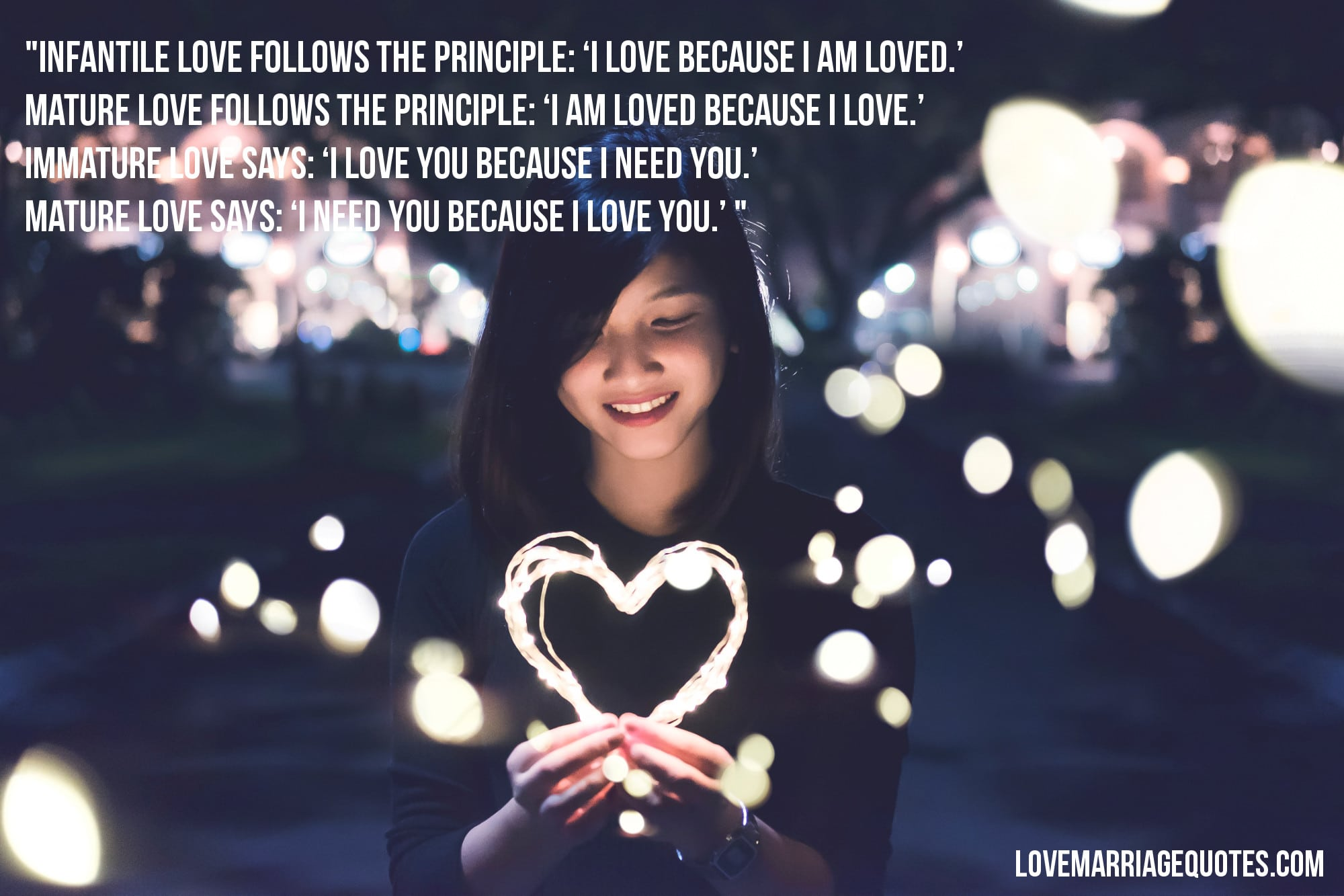 love quote Erich Fromm