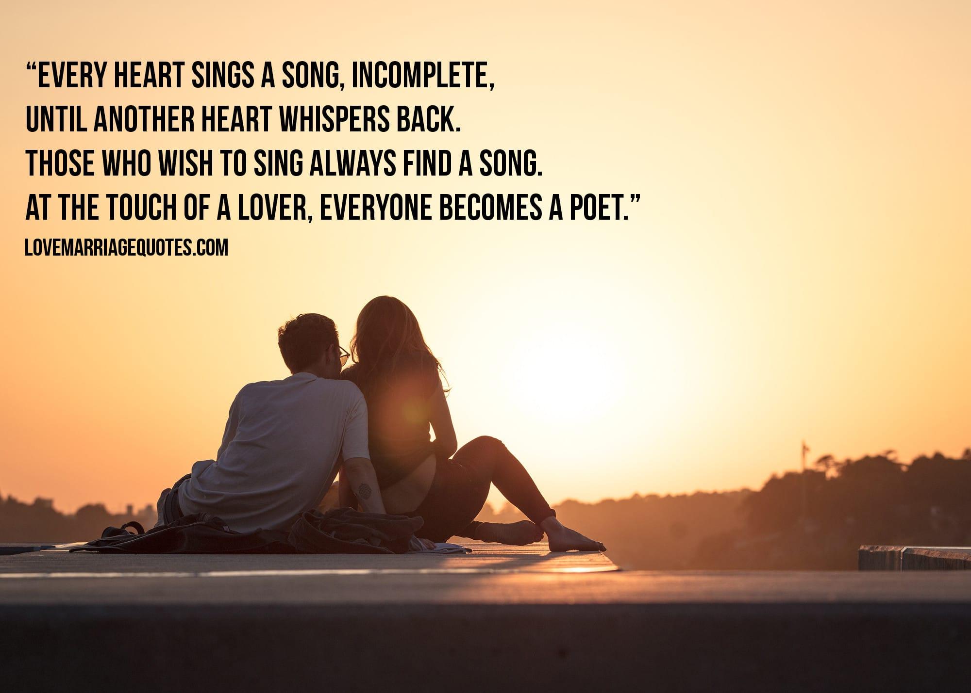 Love Quote Plato